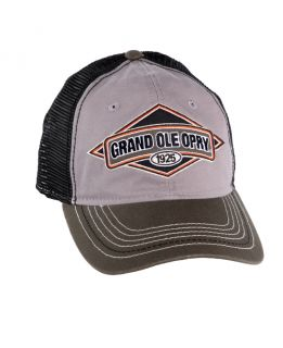 Opry Diamond Patch Trucker Cap