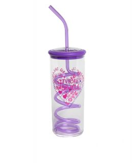 Opry Kid's Purple Doodle Heart Cup