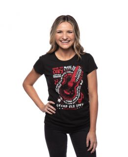 Opry Women's Outlaw Guitar Tee