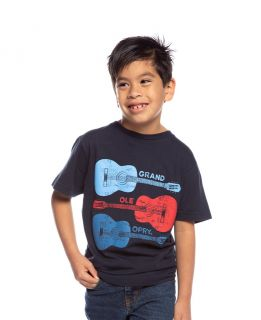 Opry Tri-Color Guitar Youth Tee