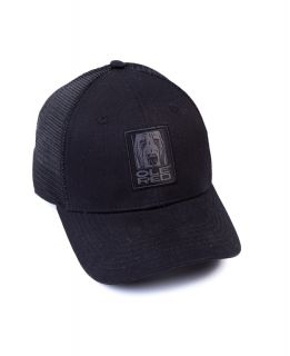 Ole Red Black Tonal Mesh Dog Cap