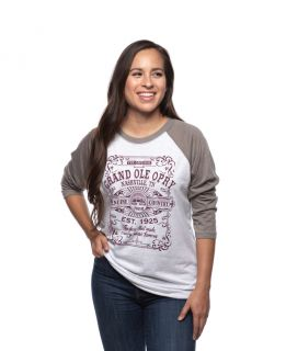 Grand Ole Opry Unisex Genuine Country Raglan Tee