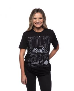 Grand Ole Opry Unisex Outlaw Spade Tee