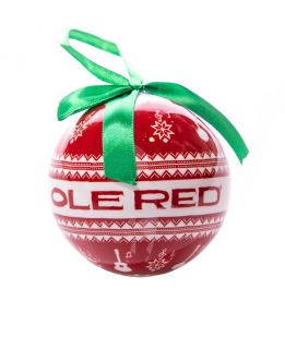 Ole Red Ugly Sweater Ball Ornament