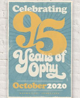 95 years of Opry Poster