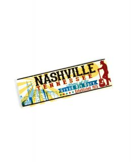 Nashville Sunburst Canvas Magnet