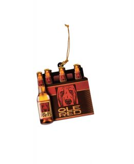 Ole Red Six Pack Beers Ornament