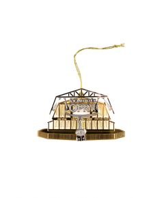 Opry Elegant Gold Stage Ornament