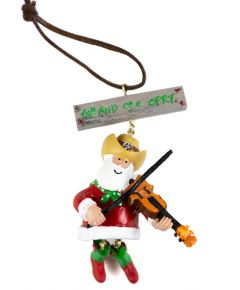 Opry Fiddle Dangle Leg Ornament