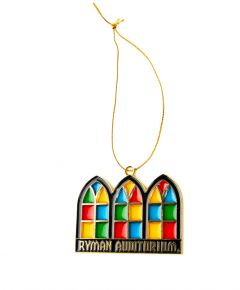 Ryman Stained Glass Windows Ornament