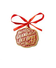 Opry Buckle Ornament