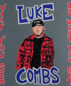 Luke Combs What You See Is What You Get LP