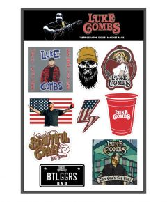 Luke Combs 9 Piece Magnet Pack